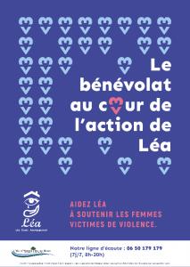 Bénévolat pour aider Léa à soutenir les femmes victimes de violences en Essonne - (91)